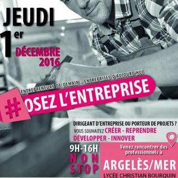 Forum entrepreneurs à Argelès-sur-Mer