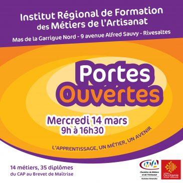 Journée Portes Ouvertes à l'IRFMA – 14 mars 2018