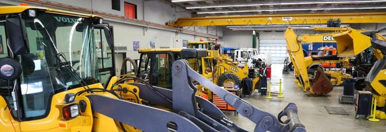 Maintenance des matériel travaux publics et manutention