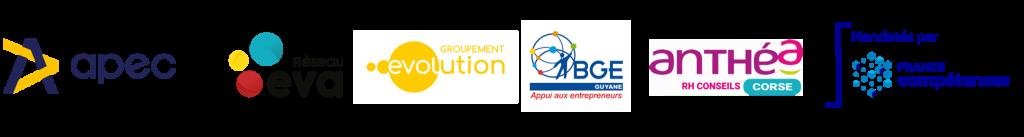 logos groupement évolution professionnelle