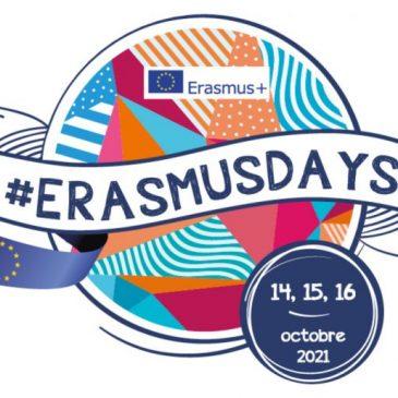 Erasmusdays 2021 : vers l'Europe et au-delà !